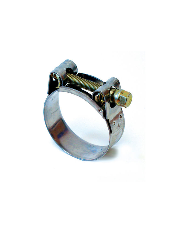 Exhaust system clamps stainless 44-47 mm