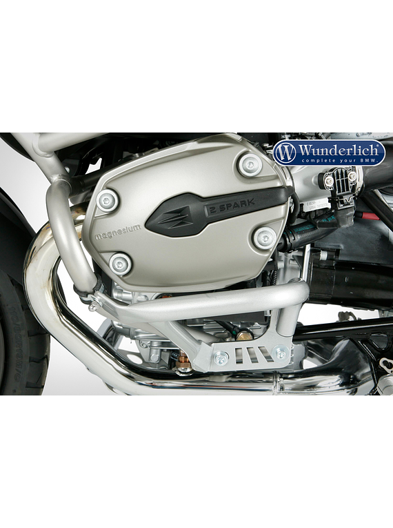 Wunderlich Valve cover protector with original BMW protection bar