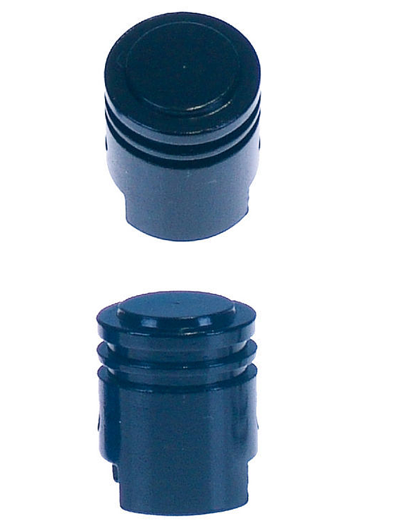 Piston valve cap