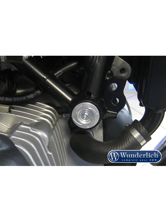Wunderlich Caps for tail frame mounting / paralever strut