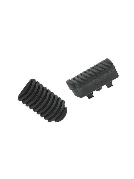 Foot peg rubber for lowering footrest ERGO