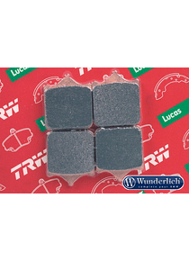 TRW Lucas sintered metal brake pad front
