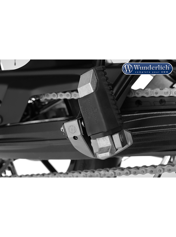 Wunderlich Passenger footrest lowering kit ERGO