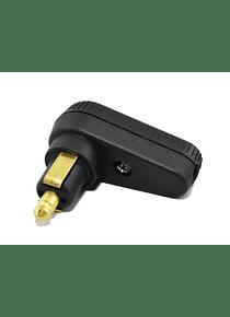 DIN - angle plug universal