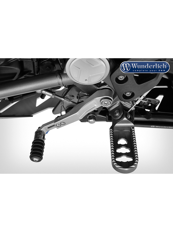 Wunderlich Adjustable gear shift lever CLEVER LEVER