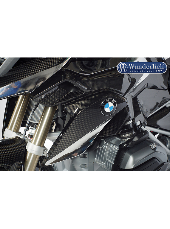 Water-cooler cover (BMW emblem carrier)