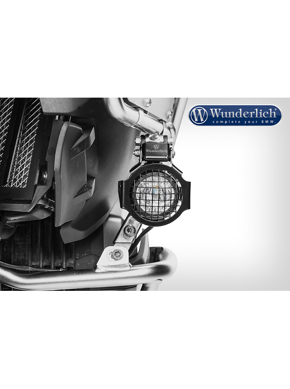 Wunderlich Auxiliary light protection grille for original BMW