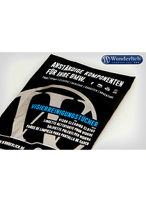 Wunderlich Visor cleaning cloths
