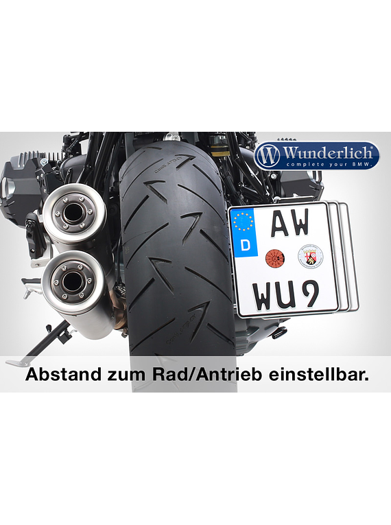 Wunderlich tail conversion LOW (with tail light conversion)