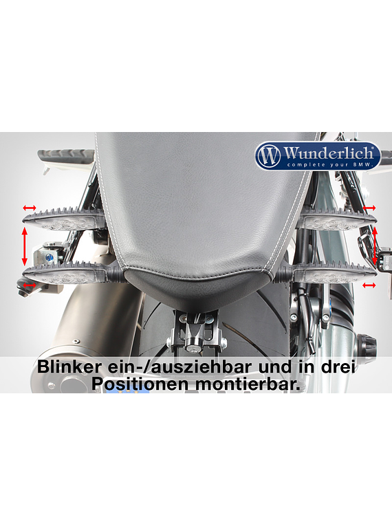 Wunderlich tail conversion SPORT (with orig. rear light holder