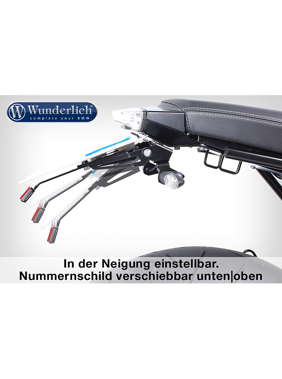 Wunderlich tail conversion SPORT (with orig. rear light holder)