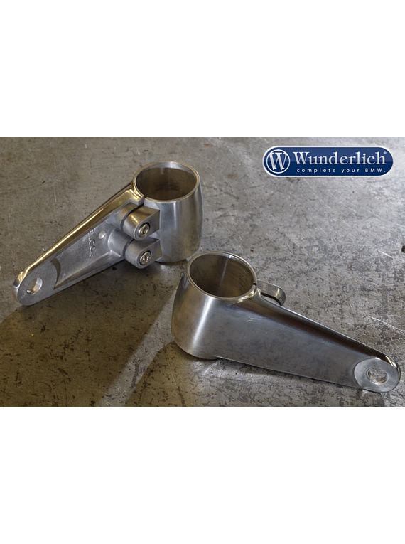 Headlight Mount ALU-CLASSIC polished