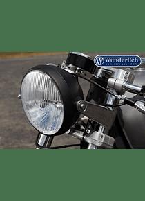 Headlight BRITISH STYLE matt black