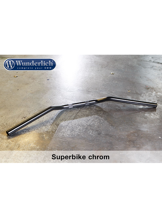 Handlebar Superbike chrome