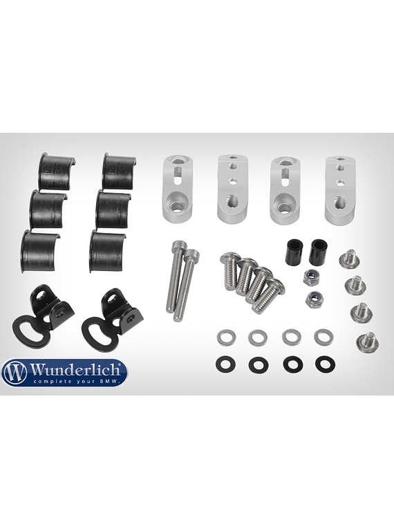 Mounting kit orig. additional lamps for Wunderlich tank protection bar