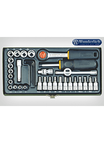 Proxxon socket set 1/4   36-part