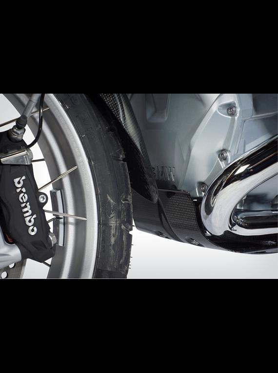 Front wheel fender