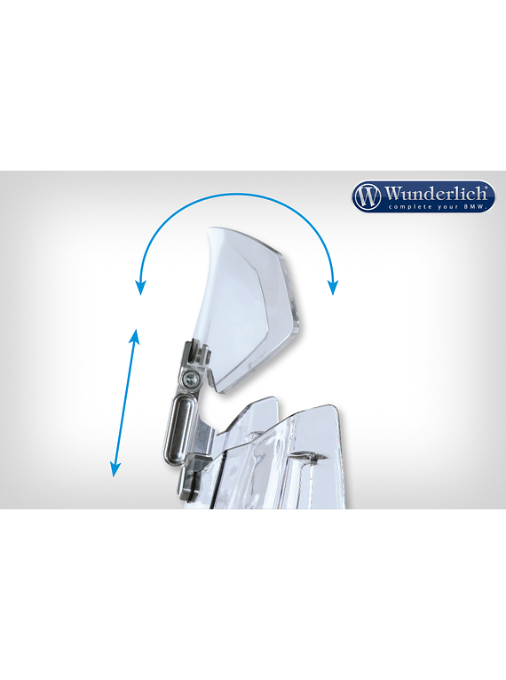 Wunderlich screen Deflector VARIO-ERGO 3D+