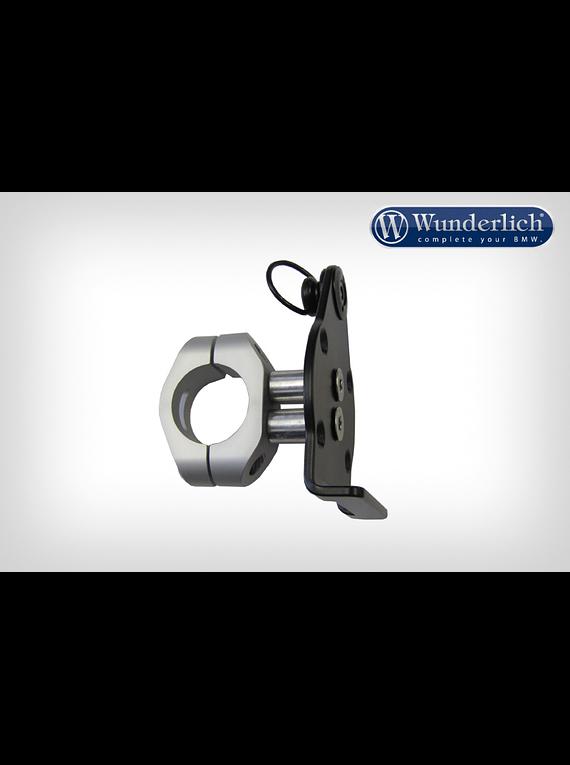 Wunderlich quick release media bag mounting on handlebar