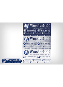 Wunderlich sticker sheet