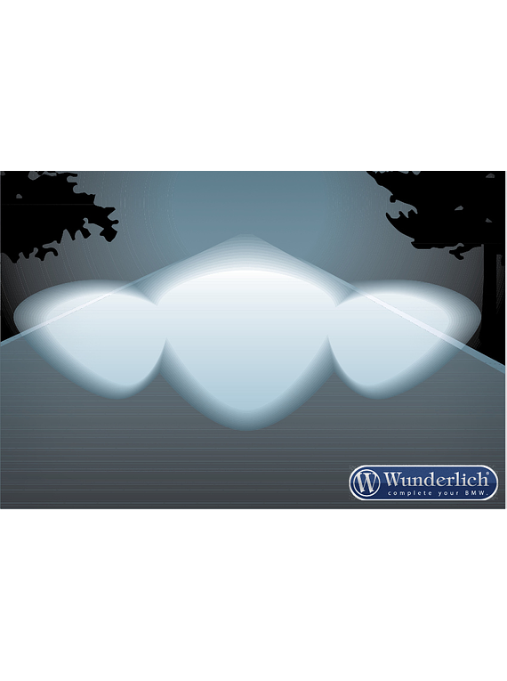 Wunderlich MICROFLOOTER LED auxiliary headlight R 1200 R LC