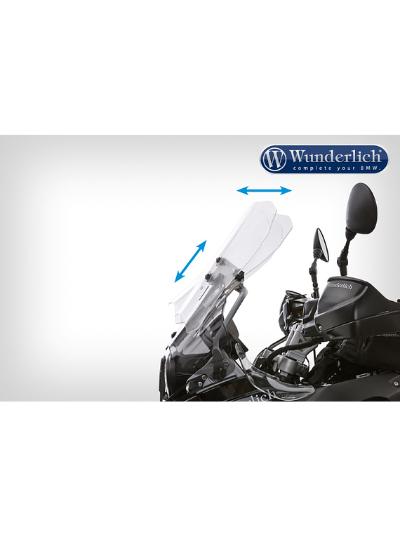 Wunderlich Windscreen F 800 GS (2012-2016) TOURING VARIO