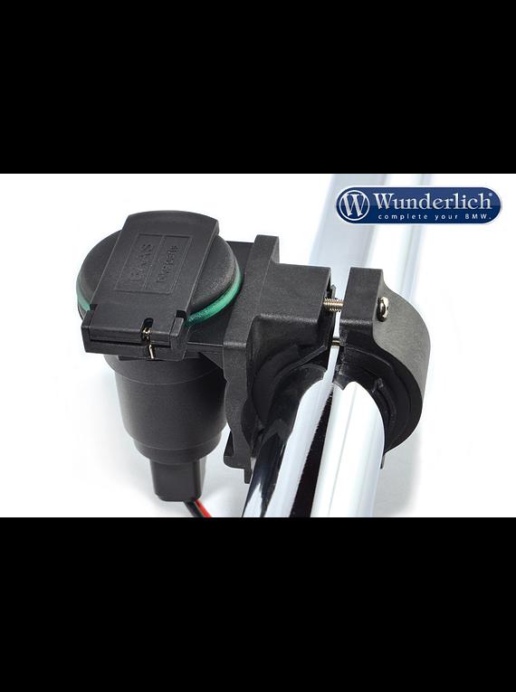 Holder cigarette lighter plug handle bar assembly