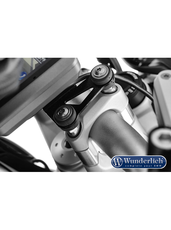 Wunderlich Special screws for handlebar riser with navigation