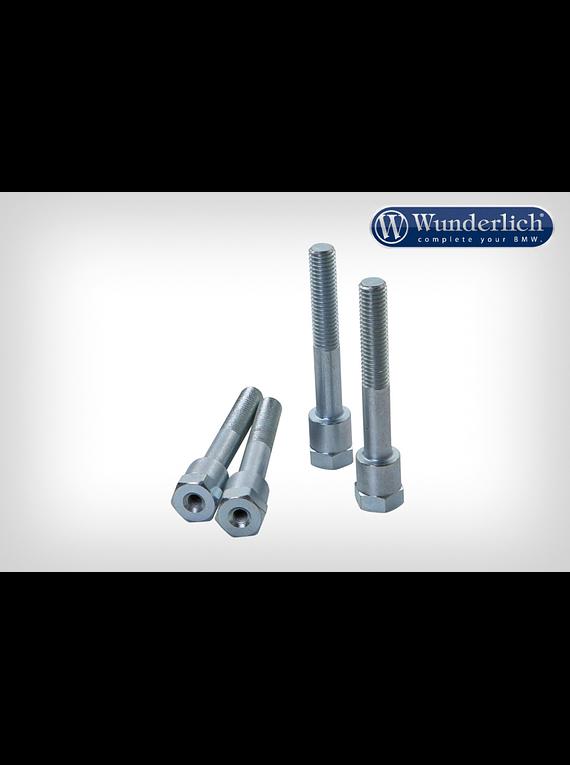 Wunderlich Special screws for handlebar riser with navigation