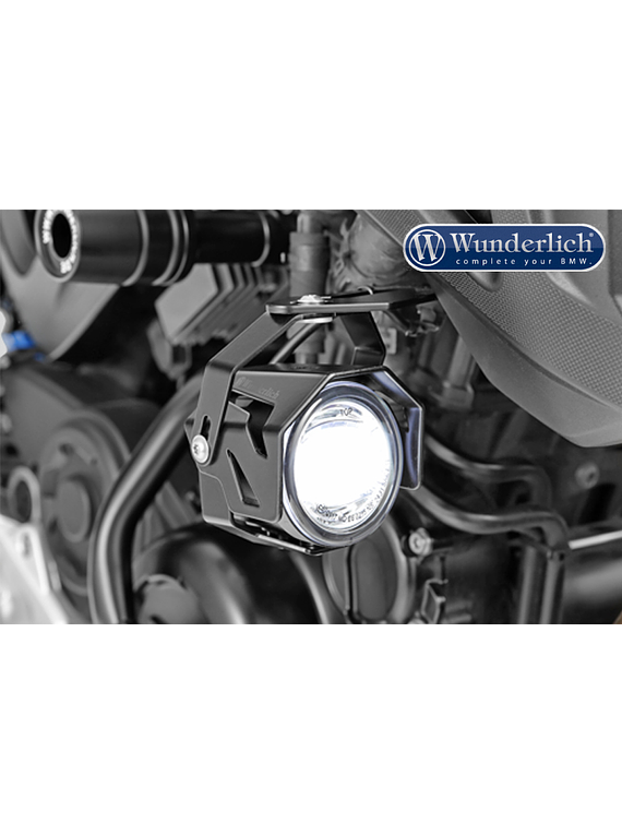 Wunderlich LED additional headlight ATON for vehicle install