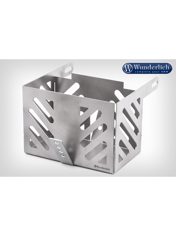 Wunderlich Twinshock 2V battery box stainless steel