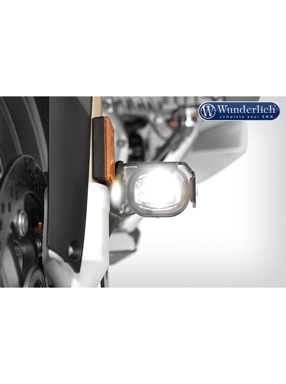 LED additional headlight MICROFLOOTER