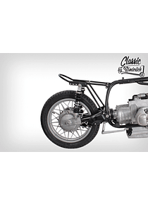 Rear frame Classic black coated