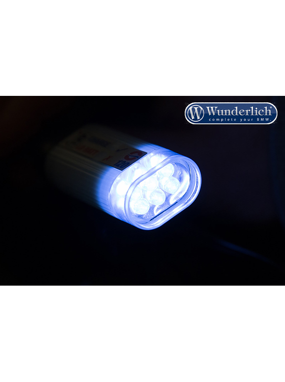 Optimate flashlight for SAE connection