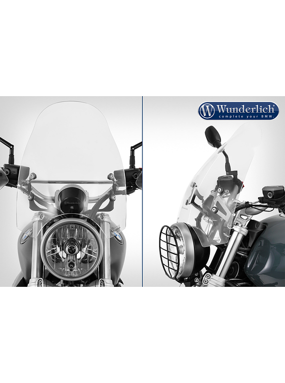 Wunderlich touring screen 70th-ROADSTER
