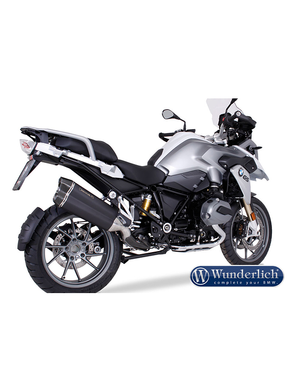 Remus 8 R 1200 GS LC stainless steel (Euro4)