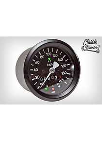 Mechanical speedometer 60mm including indicator light