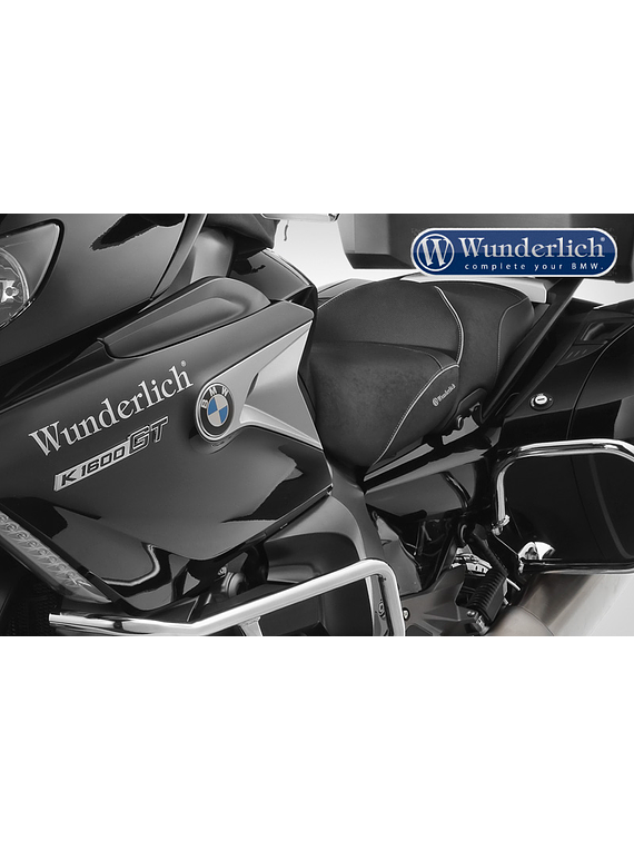 Wunderlich driver seat with seat heating and gel insert