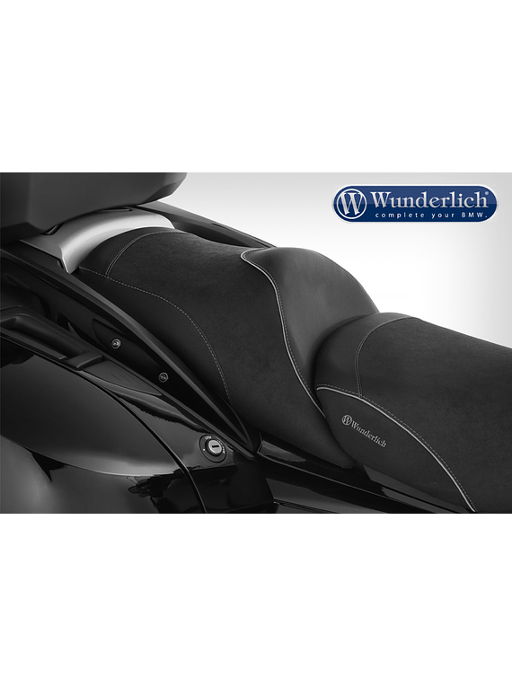 Wunderlich co-driver seat K 1600 GT with seat heating and gel insert