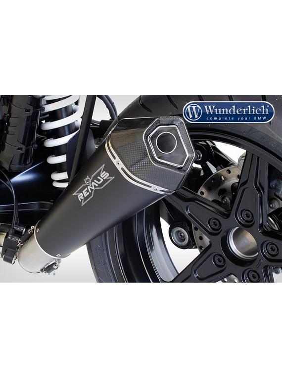 REMUS HYPERCONE to mount with pillion footpegs (EURO 4)