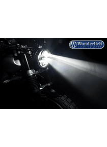 BI-LED main headlight use