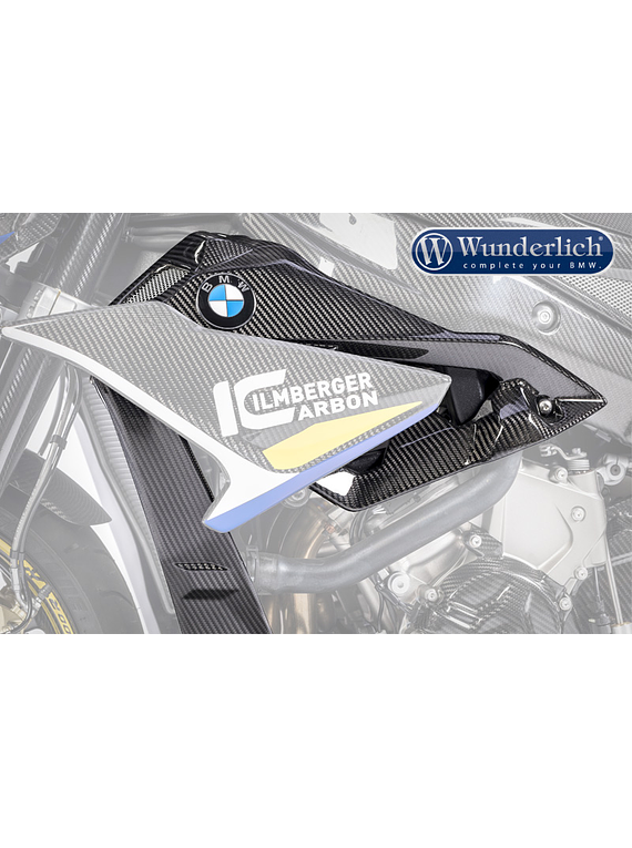 Water cooler cladding for licence plate carrier S 1000 R (2017-)