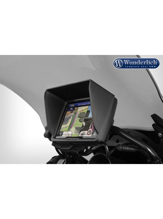 Wunderlich Device glare shield BMW Navigator VI