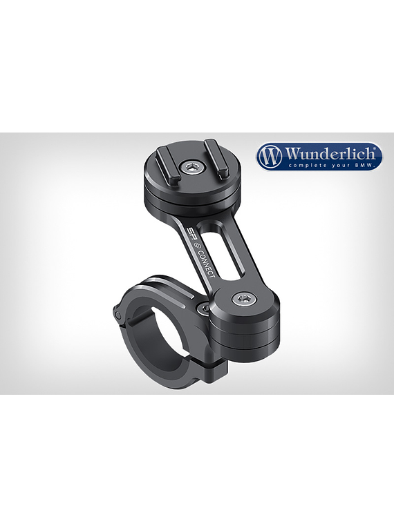 SP Connect smartphone motorcycle handlebar holder twist to lock