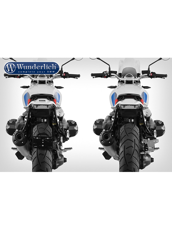 Wunderlich Enduro tail conversion  with rear light