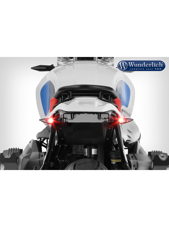 Wunderlich Enduro tail conversion without rear light