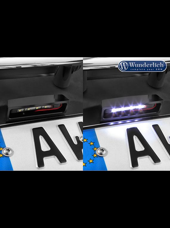 Wunderlich licence plate holder LED