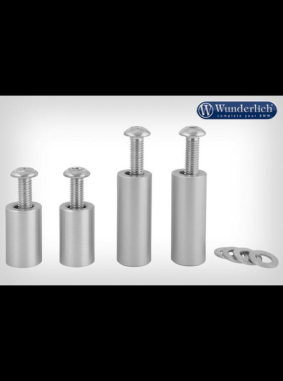Wunderlich mounting kit for aluminium mudguard