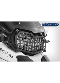 Wunderlich foldable headlight protection grille
