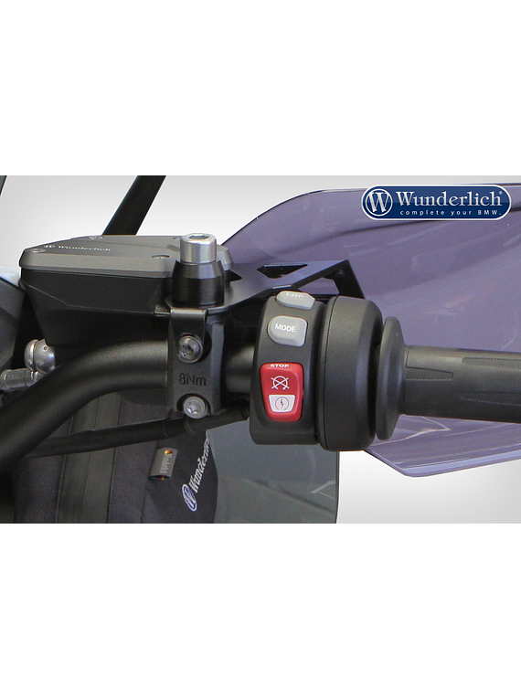Wunderlich Hand protectors mounting kit for SOS-system